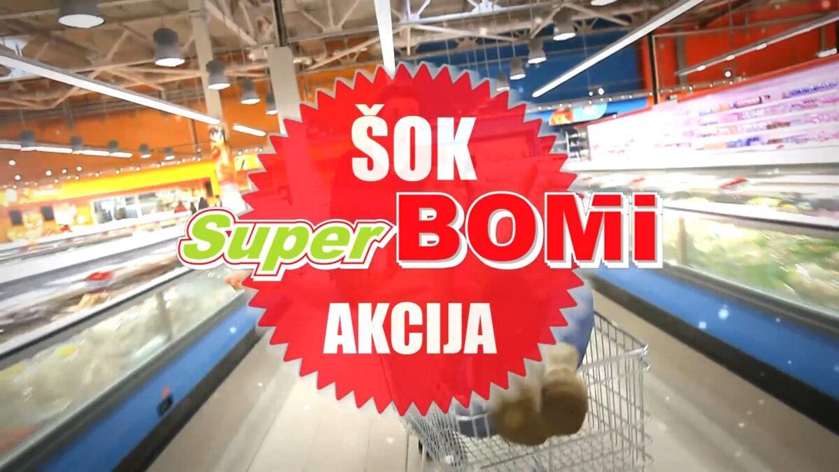 Super Bomi - ŠOK AKCIJA